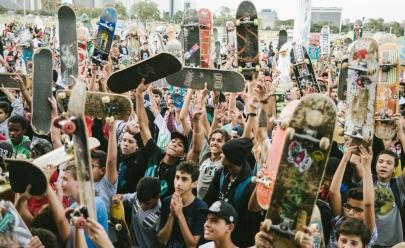 Dia Mundial do Skate é celebrado em Brasília em evento gratuito com filmes, atividades esportivas e muita música