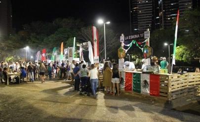 Goiânia recebe Festa das Nações ao ar livre com música e culinária internacional a partir de R$ 15
