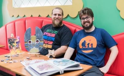 Feira geek em hamburgueria de Brasília reúne cosplayers, colecionadores e expositores locais