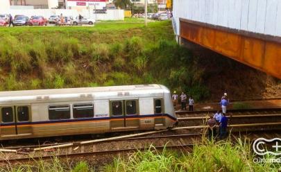 Metrô de Brasília paralisa funcionamento após acidente na estação de Arniqueiras