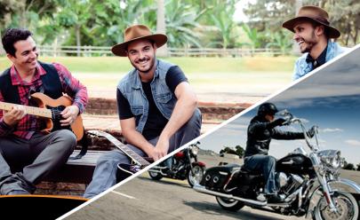 Com muito country rock, banda goiana se apresenta em evento que terá encontro de Harley-Davidson