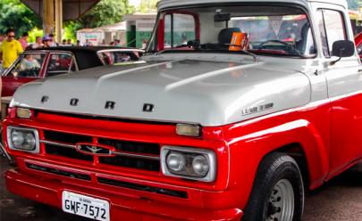 Encontro de veículos antigos movimenta o final de semana em Goiânia