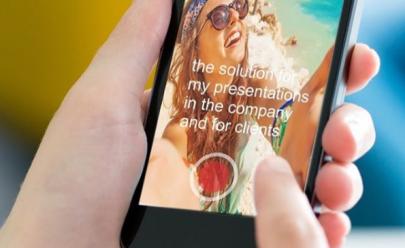 Aplicativo CellPrompter faz sucesso ao transformar seu celular em 'teleprompter' de graça
