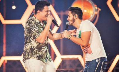 Hugo e Guilherme apresentam o show 'No Pelo' com participação de Dilsinho em Goiânia