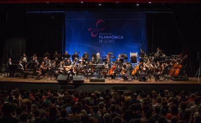 Orquestra Filarmônica de Goiás inicia temporada 2017 com concerto gratuito em Goiânia