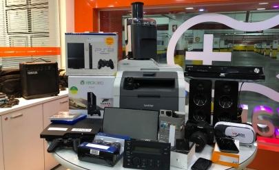 Goiânia recebe bazar de produtos eletrônicos com até 90% de desconto