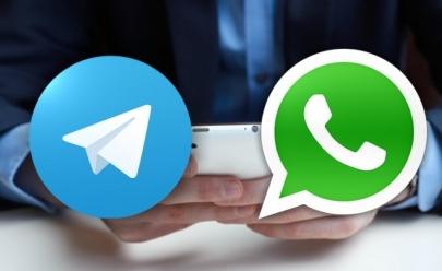 Telegram ganha mais de 1 milhão de novos usuários após bloqueio do WhatsApp