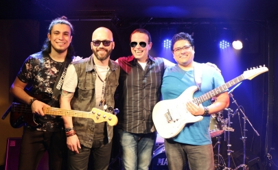 Dudu Braga apresenta sua turnê 'RC na Veia' em festival de música no Shopping Flamboyant, em Goiânia
