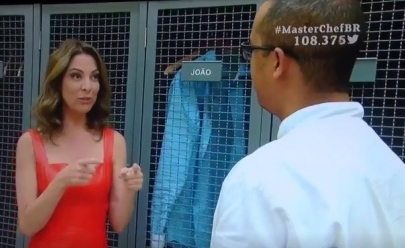 João é eliminado do Masterchef e leva fora de Ana Paula Padrão; veja o vídeo