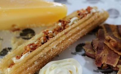 Churros gourmet oferece opções salgadas e diet em Goiânia