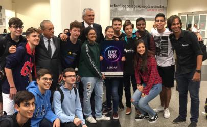 Equipe goiana fica em 1º lugar no Campeonato Nacional do Torneio Internacional de Jovens Físicos