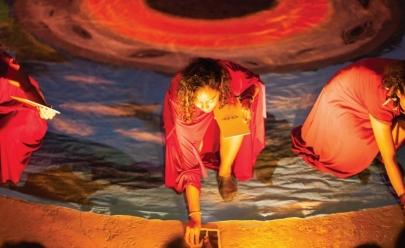 Grupo paraense faz apresentações gratuitas de teatro de rua em Goiânia; veja programação