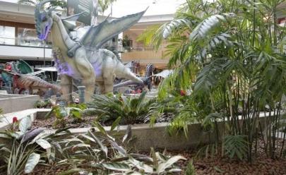 Exposição de dragões chega a Brasília com entrada gratuita