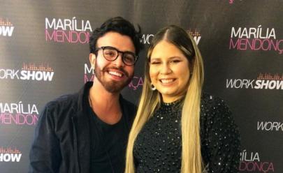 Ator que beijou Marília Mendonça vai ser pai; mãe da criança descobriu affair pela internet