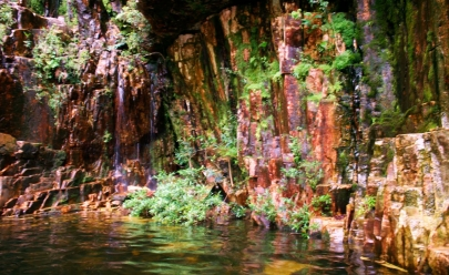 Cachoeira dos Dragões é um dos atrativos do Mosteiro Zen em Pirenópolis