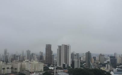 Chuva já tem previsão de chegada em Goiânia