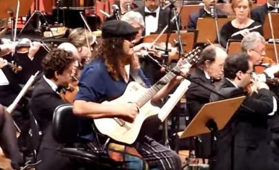 Orquestra Filarmônica de Goiás encerra temporada 2016 com Moraes Moreira
