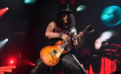 Slash, guitarrista do Guns N' Roses anuncia turnê no Brasil em 2019