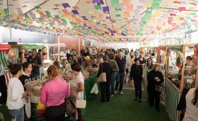 Feira orgânica gratuita em Brasília traz comidinhas típicas de São João e atrações para toda a família