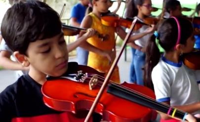 Crianças de orquestra rural em Goiânia são selecionadas para festival internacional