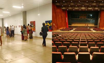 Confira a programação do primeiro semestre de 2017 do Teatro Goiânia e Vila Cultural em Goiânia