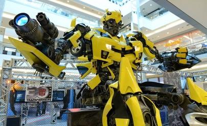 Exposição internacional de Transformers gigantes acontece em Goiânia
