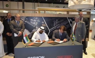 Anápolis (GO) pode receber fábrica de armas dos Emirados Árabes