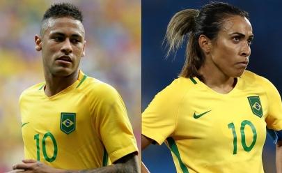 Neymar está fora e Marta concorre pela 14ª vez ao título de melhor do mundo