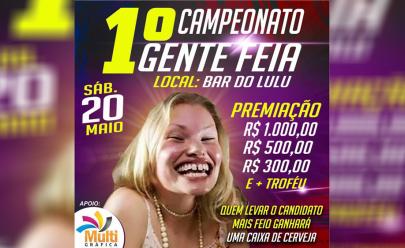 Bar promove concurso para escolher a pessoa mais feia da cidade