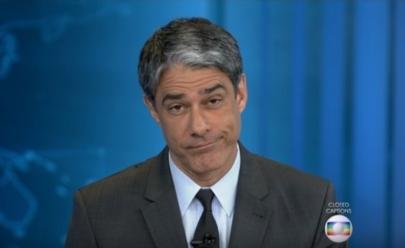 William Bonner chama Temer de ex-presidente ao vivo no Jornal Nacional