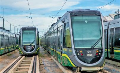 Governo de Goiás avalia tecnologia do VLT para o Eixo Anhanguera em Goiânia