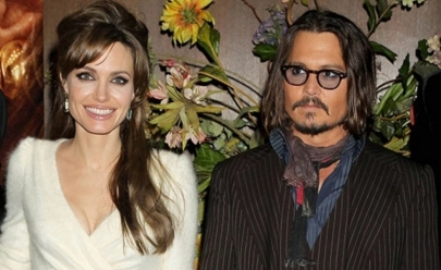 Angelina Jolie estaria namorando Johnny Depp, afirma jornal