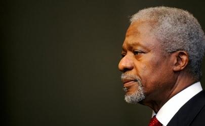 Primeiro negro a liderar a ONU, Kofi Annan, morre aos 80 anos