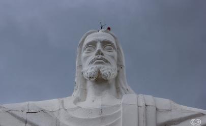 Com mirante para Goiânia e Senador Canedo Cristo Redentor ainda é ponto turístico pouco visitado