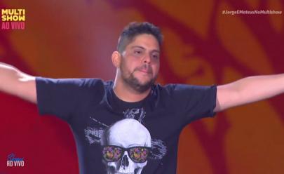 Performance do cantor Jorge durante show no Villa Mix Goiânia rende memes na internet