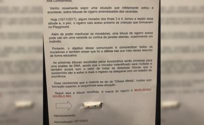 Com direito a indiretas e ameaças, recado de síndico para moradores de condomínio viraliza na web