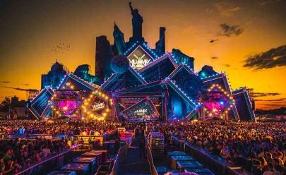 Já começou a montagem da estrutura do Villa Mix Festival 2018 em Goiânia