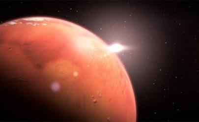 Lago subterrâneo acaba de ser descoberto em Marte