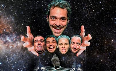 Eduardo Sterblitch, Ex-Pânico na TV apresenta 'O Rei do Mundo – Uma comédia sobrenatural' em Uberaba