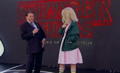 Sílvio Santos dá opinião sincera sobre Stranger Things e Netflix reage no Twitter