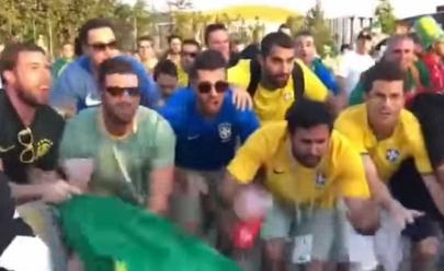 Torcedores brasileiros zoam Argentina em paródia de 'La casa de papel' e vídeo viraliza