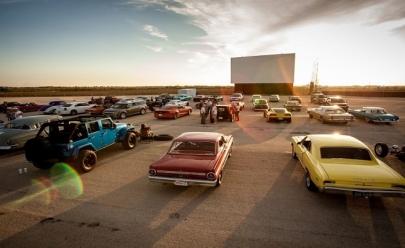 Cine Drive-in é opção retrô de cinema ao ar livre em Brasília