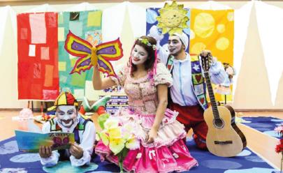 Goiânia recebe teatro infantil com bonecos e cantigas populares