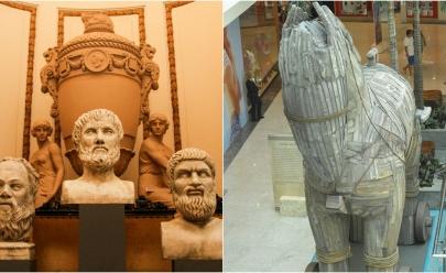 Shopping recebe exposição gratuita que exalta a história e cultura gregas em Goiânia