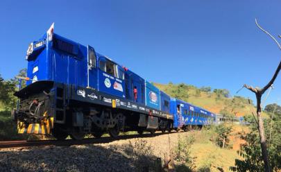 Trem turístico Minas-Rio pode ser inaugurado no início de 2019