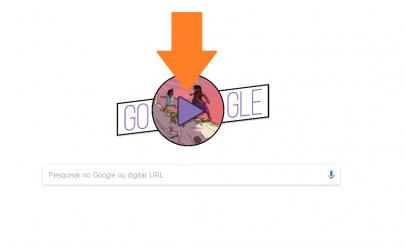Doodle do Google homenageia o Dia da Mulher e com artista brasileira
