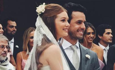 Casamento de Marina Ruy Barbosa e Xande Negrão movimenta as redes sociais; veja fotos e vídeos