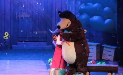 Espetáculo Masha e o Urso se apresenta em Brasília