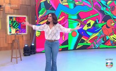 Arte de grafiteiros goianos decorou cenário do programa Encontro com Fátima Bernardes