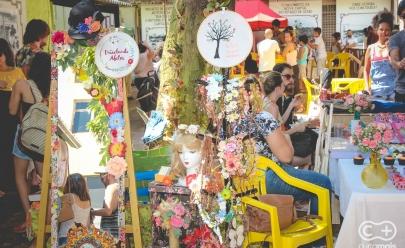 Feira descolada 'Mercado das Coisas' acontece na Vila Cora Coralina em Goiânia